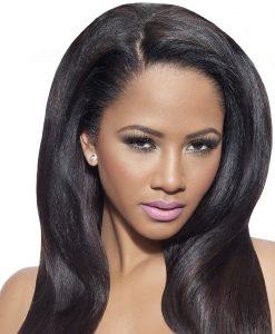 Virgin Remy Hair Yaki Straight